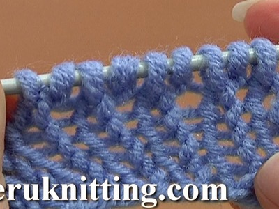 How to Knit Cast On Increase Tutorial 8 Method 6 of 14 Increases in Knitting