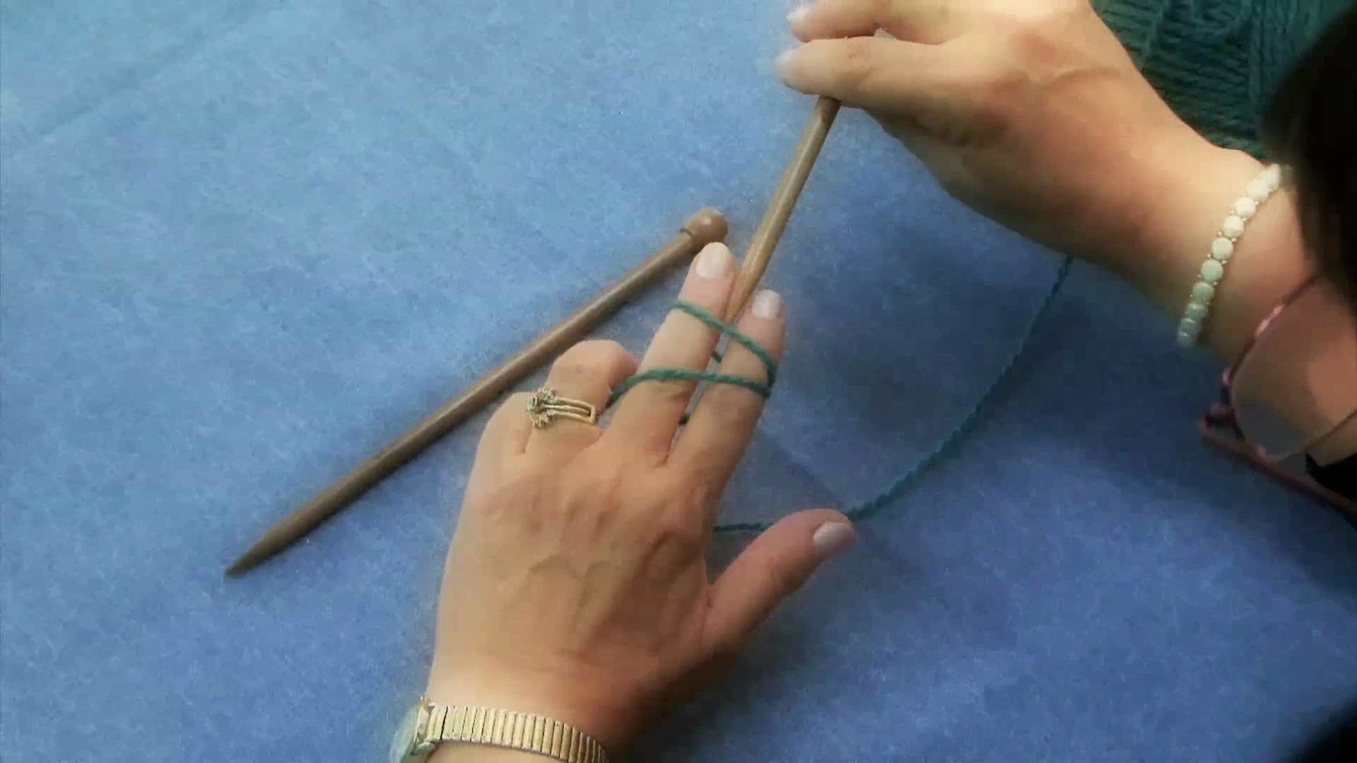 How To Knit Part 1 of 3 HD Quality