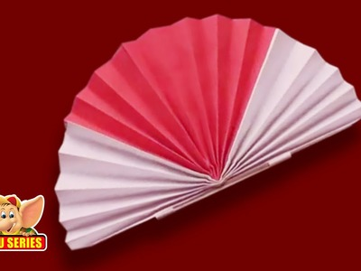 How to make a Chinese Fan - Arts & Crafts