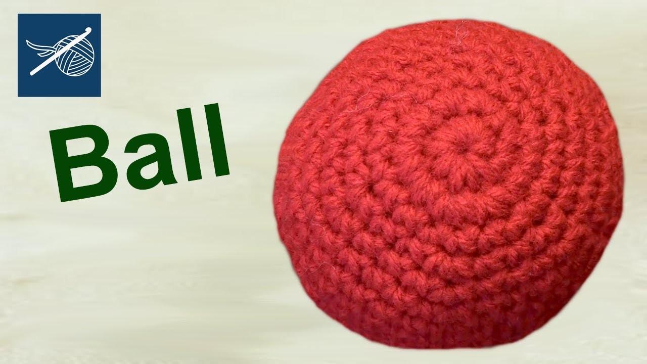 How to Make a Crochet Ball - Amigurumi - Left Hand Version Crochet Geek