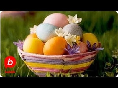 How to Make a Woven Homemade Easter Basket   Crafts   Babble