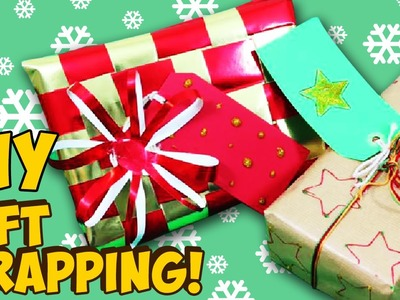 How to Wrap Presents   Fun DIY Gift Wrapping Ideas!