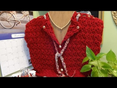 J's Crochet Friendship Vest Tutorial.  EP. #24.