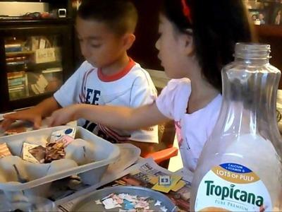 Kids Fun Crafts Piggy Bank