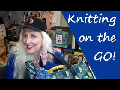 Knitting on the GO! {with Creative Options}