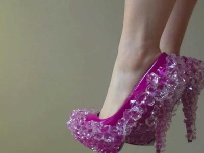 Lady Gaga.Alexander McQueen Inspired Ice Disco Spiky Deels Tutorial DIY