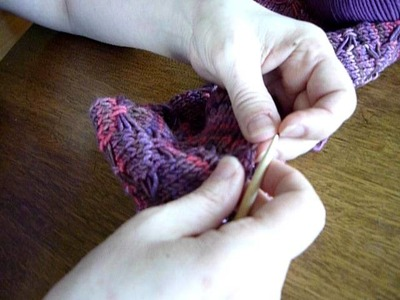 Learn to knit:  Lengthening and shortening a knitted sweater