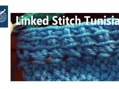 Left Hand - Linked Crochet Stitch - Tunisian Crochet Geek