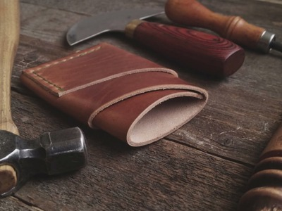 Making a Horween Leather Port Wallet with Craft and Lore