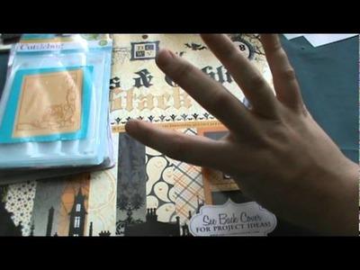 My weekend Scrapbook haul from Michaels Joannes Dollar Tree and the Flea Market