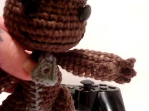 Nerdigurumi - Amigurumi Crochet Little Big Planet Sackboy - with Pattern!