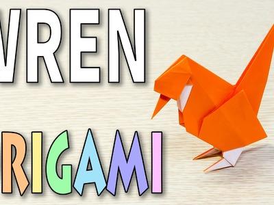 Origami Bird : A WREN