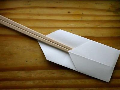 Origami Chopstick Holder (Behind the Scenes)