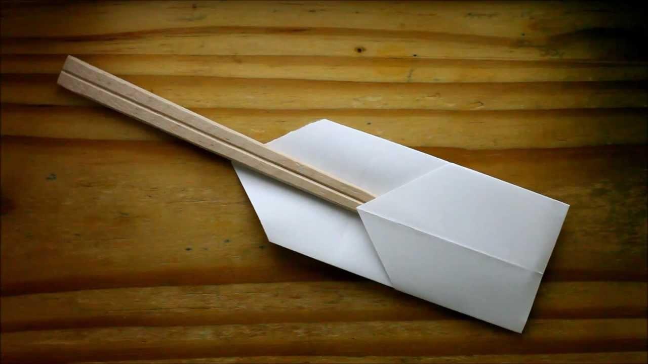 Origami Chopstick Holder Behind The Scenes