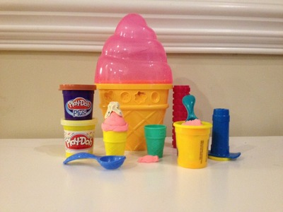 PLAY-DOH Sweet Shoppe Ice Cream Cone Container Craft Kit PlayDoh Candy Toy