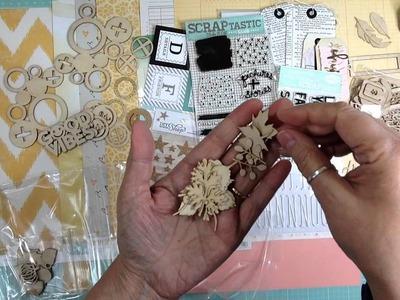 Scraptastic November Kit + Small Scrapbook Haul