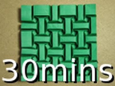 Short Version: Origami Tessellation Guide: Tessellesson on Bricks by Ilan Garibi