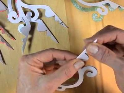 Sizzix DIY Chandelier Ornament Crafting with Brenda Walton