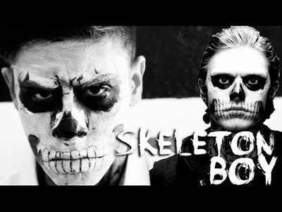 SKELETON.ZOMBIE BOY - LAST MINUTE HALLOWEEN COSTUME (DIY) | JAIRWOO
