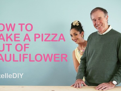 SuzelleDIY - How to Make a Pizza out of Cauliflower