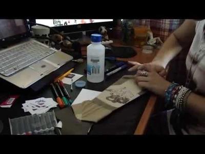 Temporary tattoo sleeve DIY