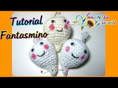 Tutorial Fantasmino Uncinetto per Halloween | How to crochet a ghost