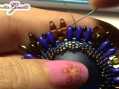 Tutorial superduo o Twin Beads set.
