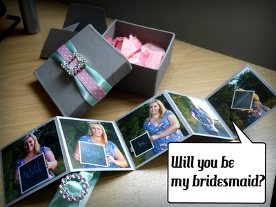 Will you be my bridesmaid? | Wedding DIY Craft