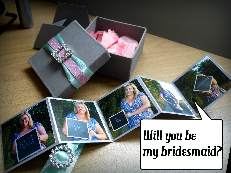 Will you be my bridesmaid? | Wedding DIY Craft