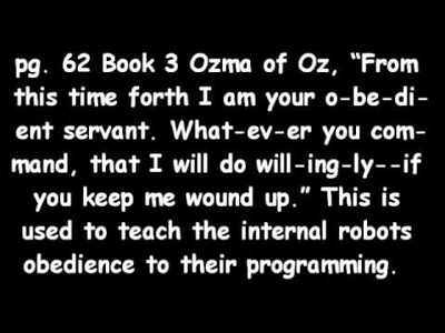 WIZARD OF OZ and the ILLUMINATI MIND CONTROL PART-3