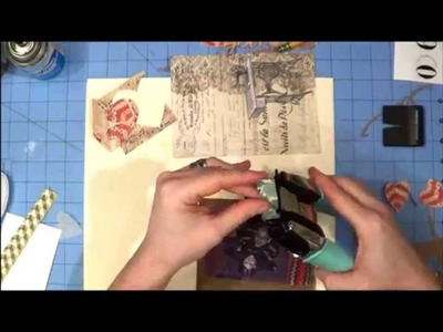 You + Me Scrapbook Layout Process Video by LBD Kit Club's DT Member, Jenni - Feb. 2013