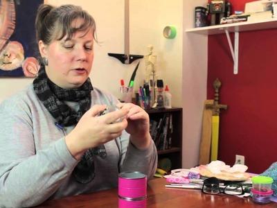 A Homemade Makeup Counter Organizer : Decorative Crafts for All!