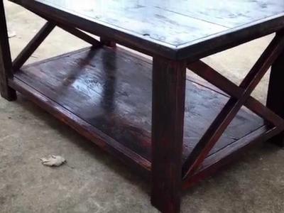 ANA-WHITE coffee table Ep1