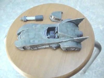 Batman Returns Keaton Batmobile papercraft model