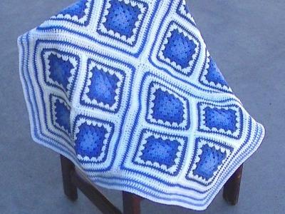 Bronwyn Crochet Afghan Part 2 of 2 - Tutorial