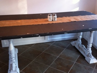 Chalk Paint an old Dining Room Table - DIY Home - Guidecentral
