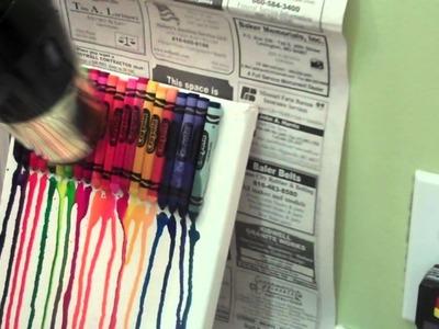 Crayon melting like a boss!! (craft time #1)