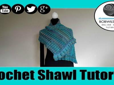 Crochet Midnight Breeze Shawl Tutorial - Beatrice Ryan Designs