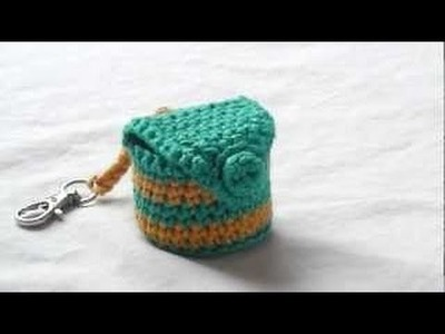 CROCHET TUTORIAL - LIP BALM COSY KEYRING (PART 1)