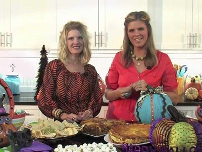 Crockin' Girls Enchiladas and Halloween Crafts