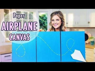 DIY Airplane Canvas!!