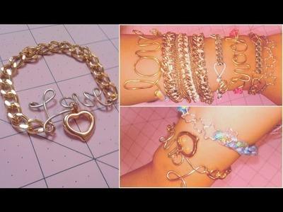 DIY ARMCANDY Wire, Macrame, & Link Bracelets (Gift Ideas)
