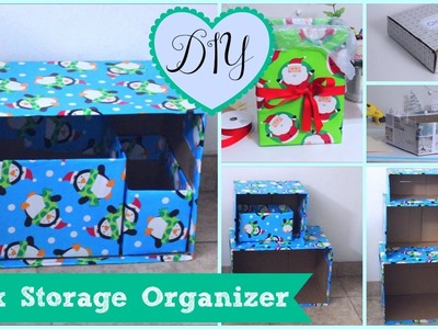 DIY Box Organizer - 5 Storage Project Ideas - Cheap & Easy