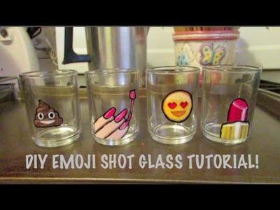 DIY Emoji Shot Glass Tutorial