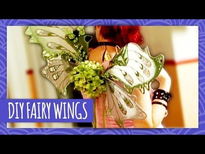 DIY Fairy Wings on Crafters Coast to Coast - HGTV Handmade