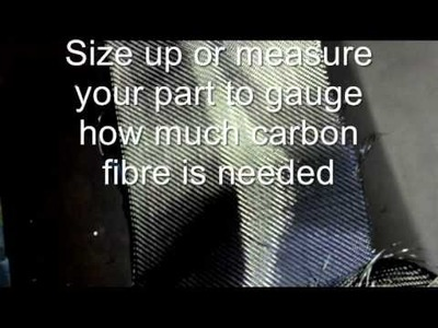 D.I.Y. Fibres, Carbon Fibre Wrapping Kit Instructional
