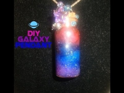 DIY GALAXY BOTTLE CHARM.PENDANT (NEW)