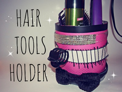 DIY Hair Tools.Accessories Holder