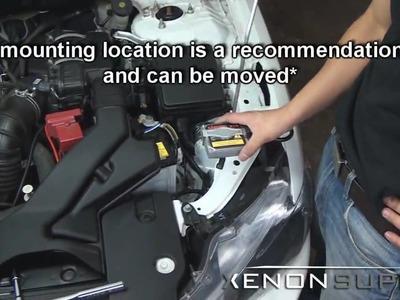 DIY HID Xenon Install: Mitsubishi Lancer 2009 +