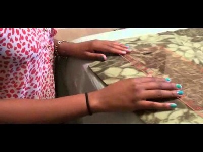 ♡ DIY: How to make a No-Sew Tie Fleece Blanket ♡